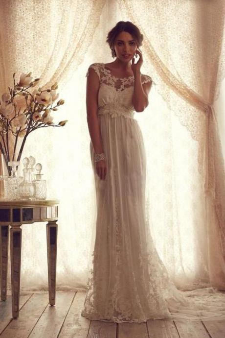 Elegant Lace Bridal Dresses