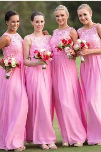 Brief Lace Bridesmaid Dress